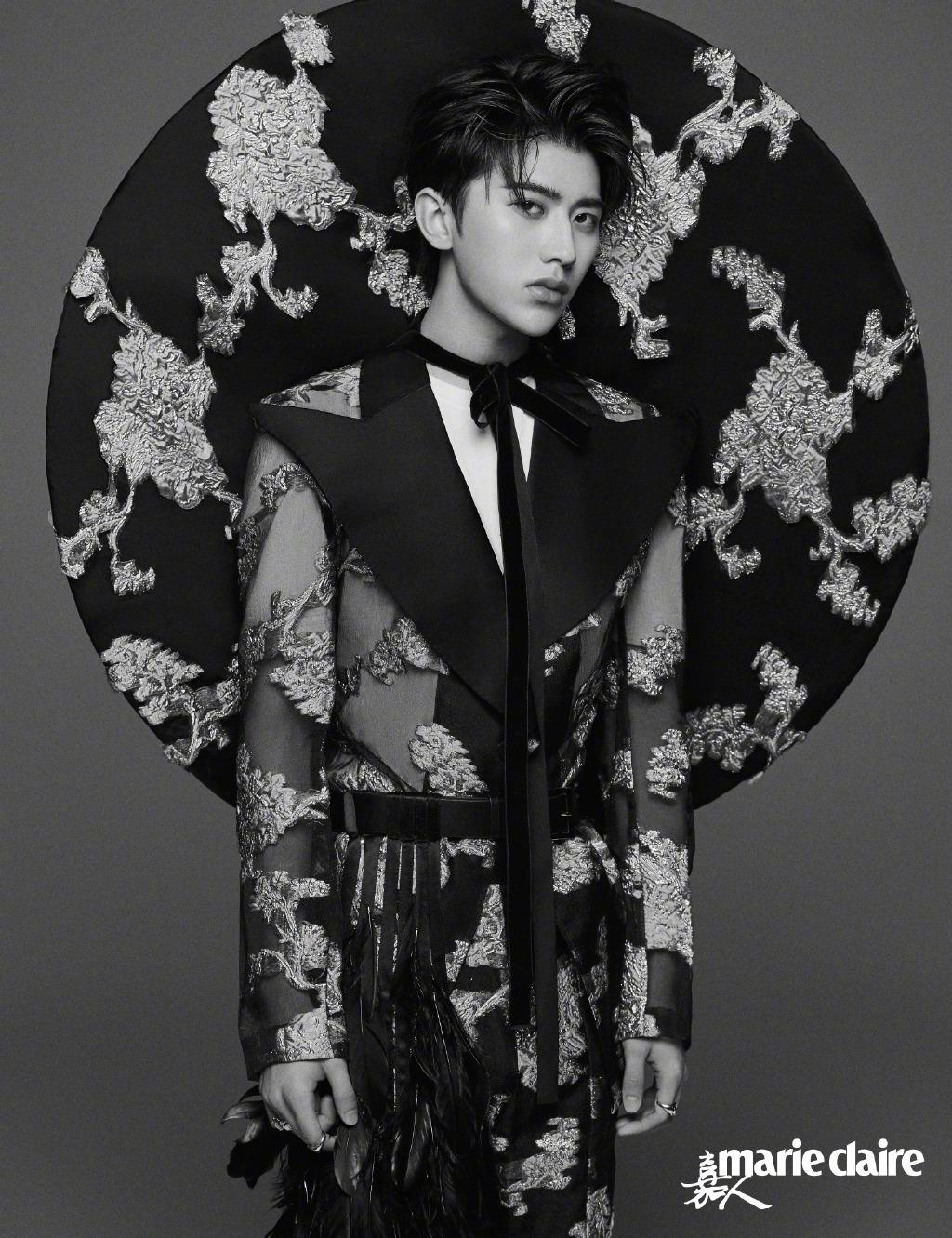 蔡徐坤玫瑰花冠封面 尽显浪漫高贵气息